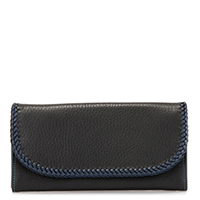 Santa Fe Slim Wallet-Black/Pace