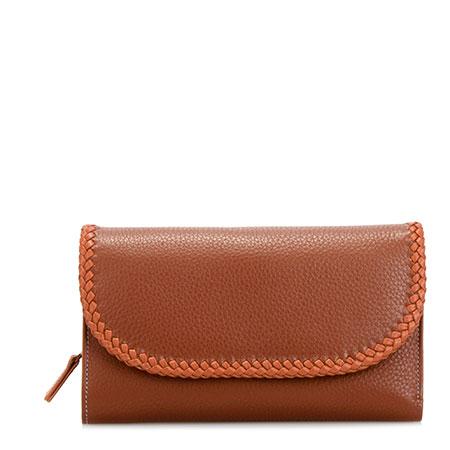 Santa Fe Tri-fold Wallet-Siena