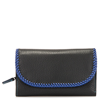 Santa Fe Tri-fold Wallet-Black/Pace