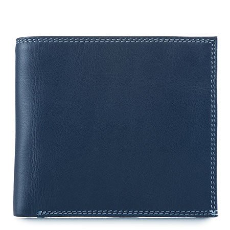 Classic Wallet w/Zip Section-Royal