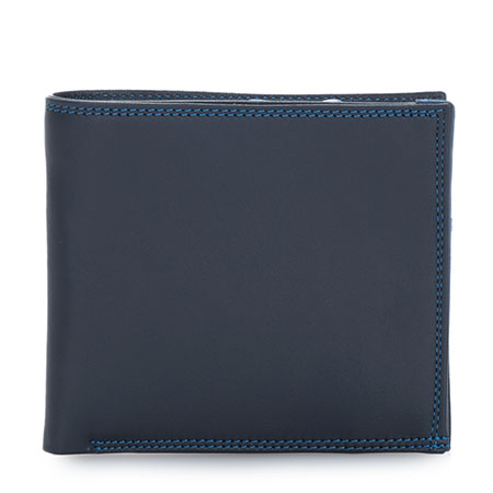 Classic Wallet w/Zip Section-Kingfisher