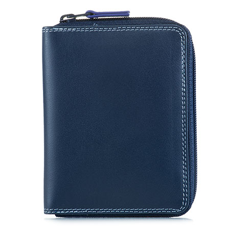 Men's Coin Tray Wallet-Royal