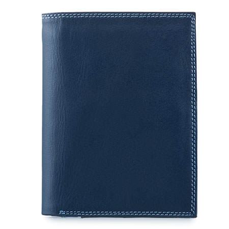 Men's Wallet w/Zip Section-Royal