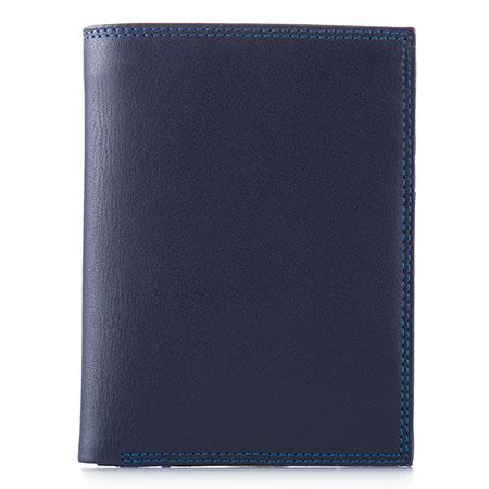 Men's Wallet w/Zip Section-Kingfisher