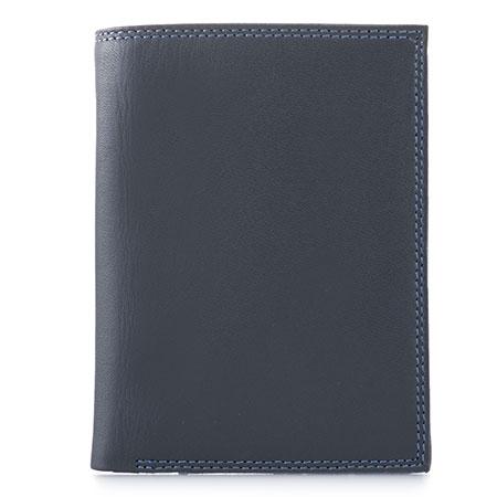 Men's Wallet w/Zip Section-Smokey Grey