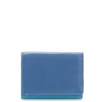 Small Tri-fold Wallet-Aqua