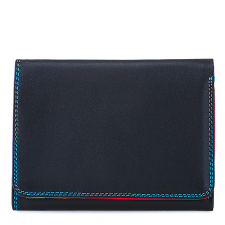 Small Tri-fold Wallet-Black/Pace