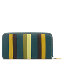 Laguna Zip Around Purse-Evergreen