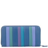 Laguna Zip Around Purse-Bluebell