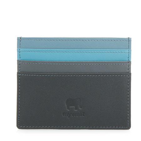 Credit Card Holder-Black Grey