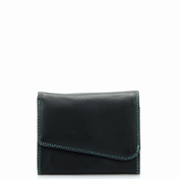 Melbourne Flapover Purse-Black Bluebell