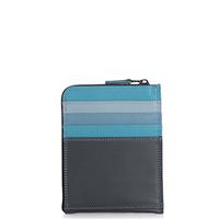 Zip Around CC Holder/Wallet-Smokey Grey
