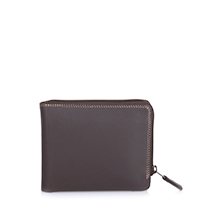 Zip Around Men's Wallet-Safari Multi