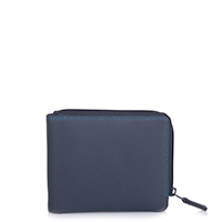 Zip Around Men's Wallet-Kingfisher