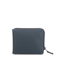 Zip Around Men's Wallet-Smokey Grey