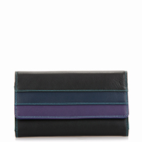 Brighton Beach Tri-fold Purse -Black/Pace