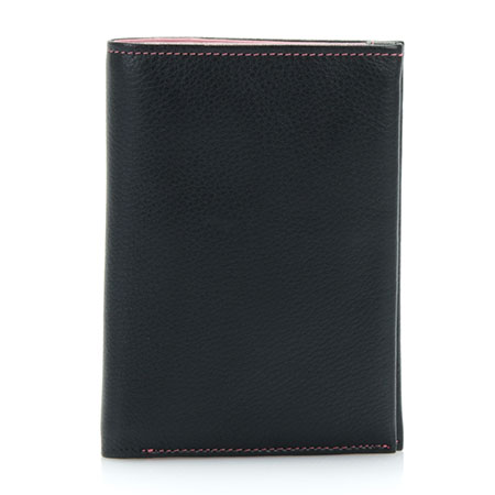 Lisbon Medium Wallet-Black Berry