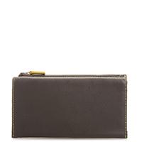 Lisbon Pouch Wallet-Brown/Evergreen