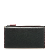 Lisbon Pouch Wallet-Black Berry
