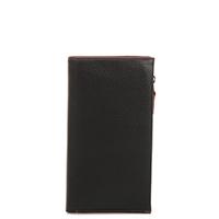 Lisbon Large Slim Wallet-Black Berry
