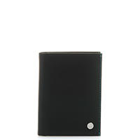 Boston Continental Wallet-Black/Pace
