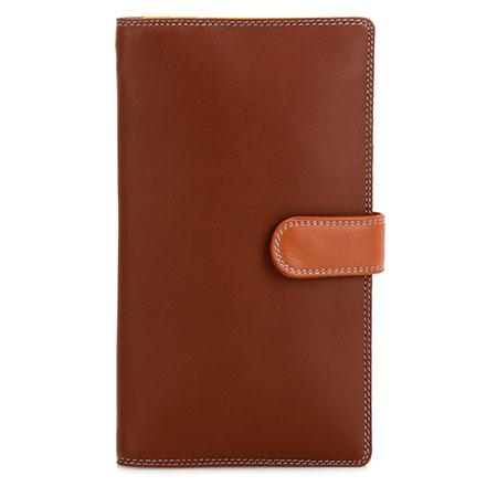 Large Tab Tri-fold Wallet-Siena