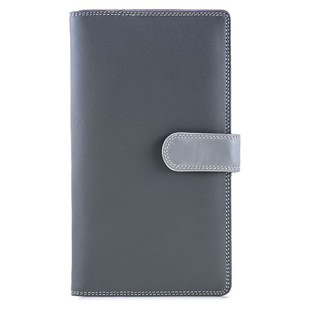 Large Tab Tri-fold Wallet-Storm