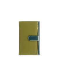Large Tab Flapover Purse-Evergreen