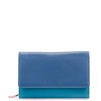 Large Organiser Purse-Aqua