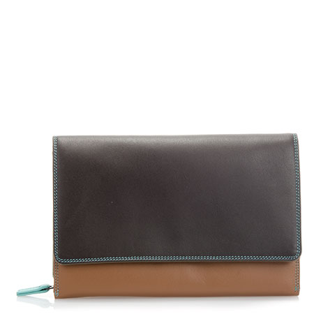 Large Organiser Purse-Chocolate Mousse