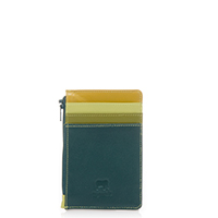 Credit Card Holder with Coin Purse-Evergreen