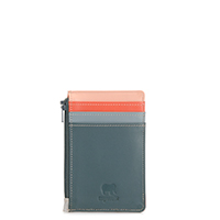 Credit Card Holder with Coin Purse-Urban Sky