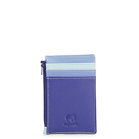 Credit Card Holder with Coin Purse-Lavender