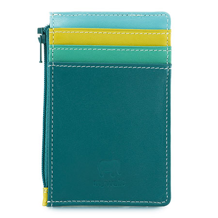 Credit Card Holder with Coin Purse-Mint