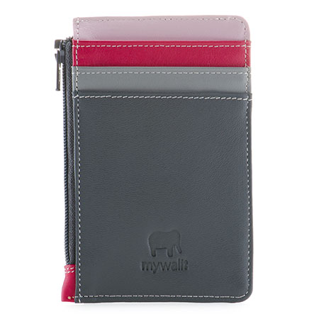 Credit Card Holder with Coin Purse-Storm