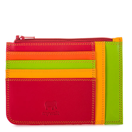 Slim Credit Card Holder with Coin Purse-Jamaica