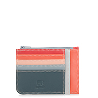 Slim Credit Card Holder with Coin Purse-Urban Sky