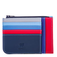 Slim Credit Card Holder with Coin Purse-Royal