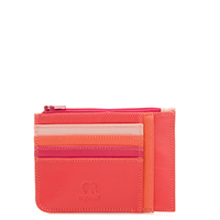 Slim Credit Card Holder with Coin Purse-Candy