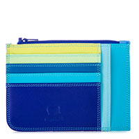 Slim Credit Card Holder with Coin Purse-Seascape