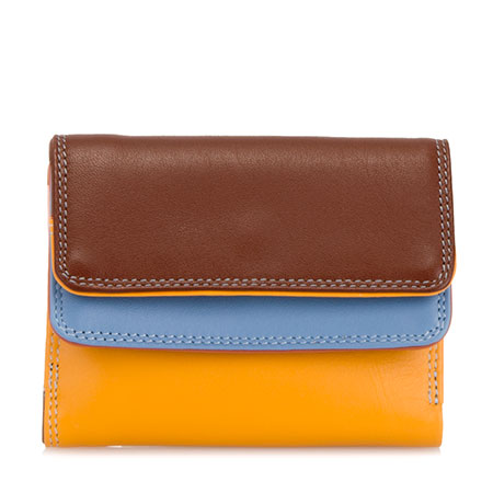 Small Double Flap Wallet-Siena