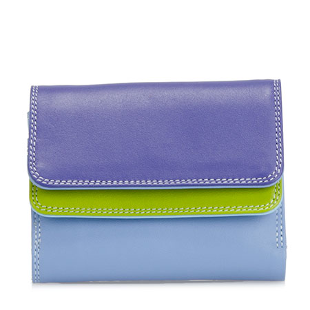 Small Double Flap Wallet-Lavender