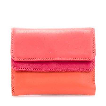 Small Double Flap Wallet-Candy