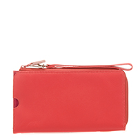 Zip Round Multi Purse with Wristlet-Candy