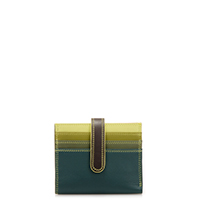 Small Tab Card Wallet-Evergreen