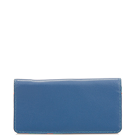 Large Slim Wallet-Aqua