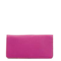 Large Slim Wallet-Sangria Multi