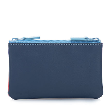 Double Zip Pouch-Royal