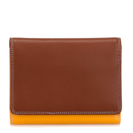 Medium Wallet w/Inner Leaf-Siena