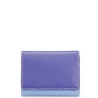 Medium Wallet w/Inner Leaf-Lavender